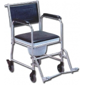 Cadeira cômoda cromada