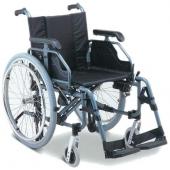 Cadeira de rodas king alumunium