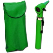 Otoscópio gimalux f.o. - verde