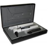 Oto-oftalmoscópio rister e-scop kit branco