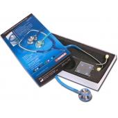 Estetoscópio gima double head azul noite