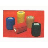 Ligaduras elasticas para veterinária 4,5 m x 10 cm vermelha